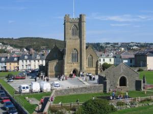St. Michael's church in Aberystwyth