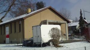 Bubikon, Kanton Zürich, Schweiz. geplanter Swisscom Mobilfunk-Antennenstandort