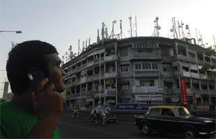 Mobilfunkantennen Indien
